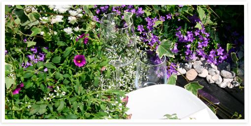 FloristUlriks sommarborddukning